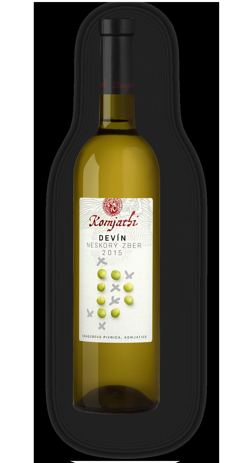 Komjatice, víno Komjatice, Devín biele víno Komjathi