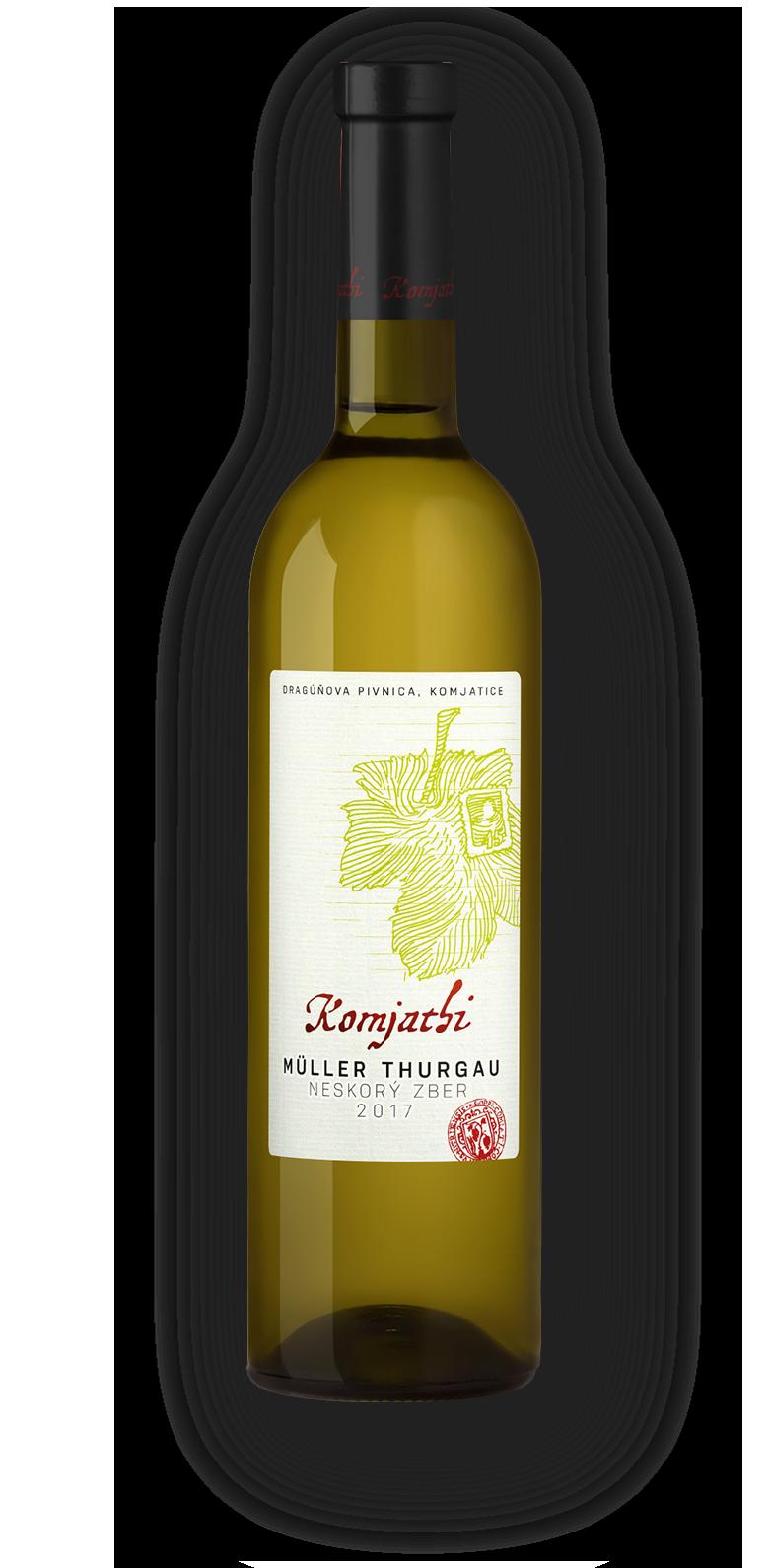 Komjatice, víno Komjatice, Muller Turgau Komjathi